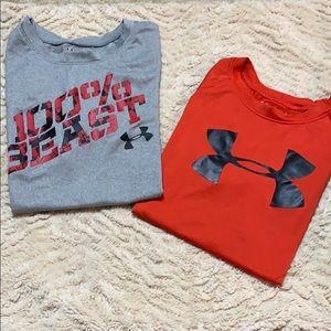 UA tee shirt bundle